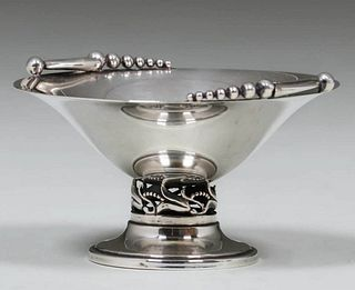 Vintage Cartier Sterling Silver Compotier c1920s