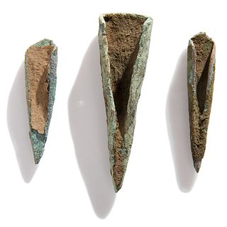 Old Copper Culture Rolled Conical Points
