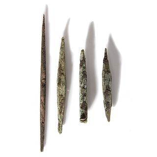Old Copper Culture Large Awls and Spears