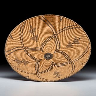 Apache Basket, with German Silver Button