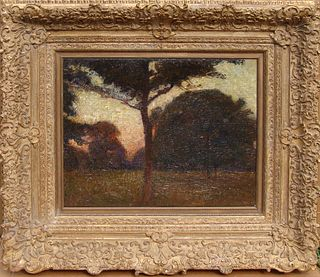 Stunning Impressionist Landscape at Dusk: Moll