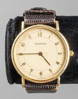 Vintage Tiffany & Co. 14K Yellow Gold Wristwatch