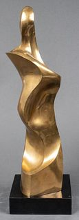 Seymour Meyer Modern Bronze Sculpture