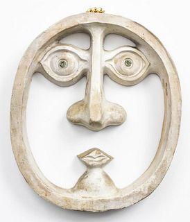 David Gil for Bennington Potters Pottery Mask