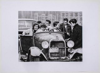 "Fred Herzog ""North Vancouver"" Inkjet Print"