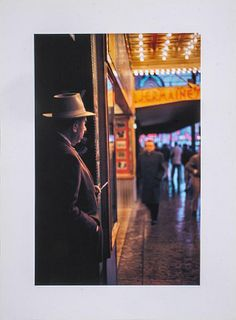 "Fred Herzog ""Flaneur Granville"" Inkjet Print"