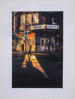 """Fred Herzog """"Crossing Powell"""" Inkjet Print"""