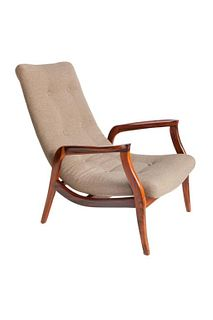Gelli Brazilian Mid-Century Modern Jacaranda Chair