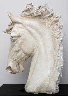 Marilyn Weinstein Monumental Horse Head Sculpture
