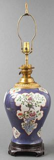 Chinese Porcelain Vase Table Lamp