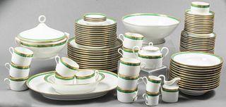 """Richard Ginori """"Palermo Green"""" Porcelain 85 Pcs."""