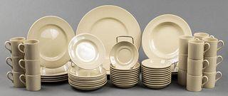 Wedgwood Porcelain Partial Service, 57 Pcs.