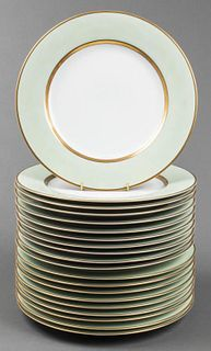 "Fitz & Floyd ""Renaissance"" Dinner Plates, 20"