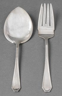 Dominick & Haff Sterling Silver Servers, 2