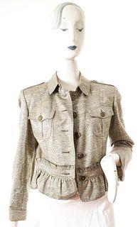 Burberry Gold-Tone Jacket