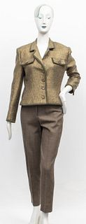 Piazza Sempione Wool Pants with an Italian Blazer