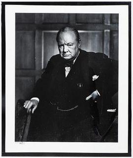 """Yousuf Karsh """"Portrait of Winston Churchill"""" 1941"""