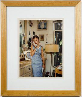 "Katharina Bosse ""O.T. Madchen Mit Telefon"" C-Print"