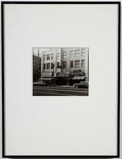"""Downtown Los Angeles"" Gelatin Silver c. 1950"