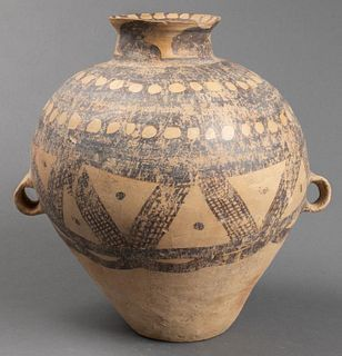 Chinese Neolithic Period Large Pottery Jar