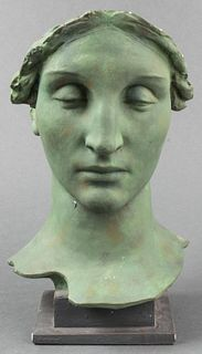 Alva Studios Ceramic Classical Bust Sculpture