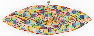 Beatrice Wood Style Art Pottery Fish Platter