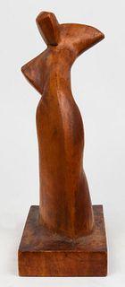 Mark Friedman Modern Carved Wood Sculpture
