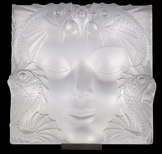 Lalique France Crystal 'Masque De Femme'