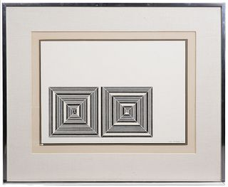 Frank Stella 'Les Indes Galantes III' Lithograph