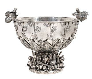 Richard Cipolla Italian Pewter Centerpiece Bowl