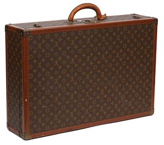 Louis Vuitton Alzer 60 Monogram Hard Suitcase