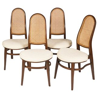 Set 4 Wormley for Dunbar Dining Chairs