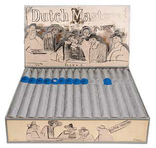 Larry Rivers Dutch Masters Cigar Box