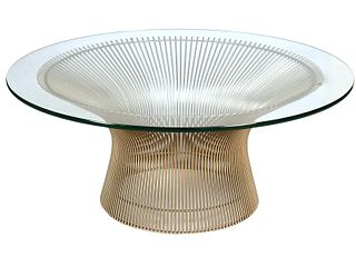 Vintage Warren Platner Coffee Table for Knoll