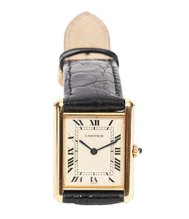 Vintage Cartier Unisex Tank Watch