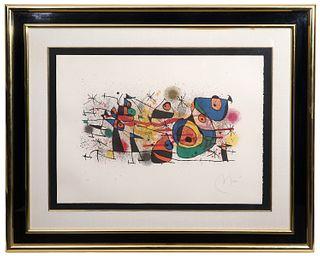 Joan Miro Lithograph 'Ceramique'