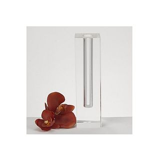 Crystal glass Bud Vase
