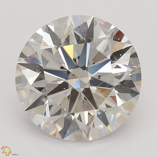 3.01 ct, Natural Faint Pinkish Brown Color, SI1, Round cut Diamond (GIA Graded), Unmounted, Appraised Value: $78,500