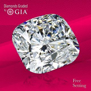 4.01 ct, F/VS1, Cushion cut Diamond. Unmounted. Appraised Value: $252,600