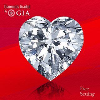 3.51 ct, F/VS1, Heart cut Diamond. Unmounted. Appraised Value: $135,100