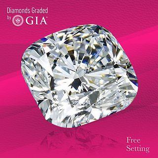 4.01 ct, E/VS1, Cushion cut Diamond. Unmounted. Appraised Value: $272,600
