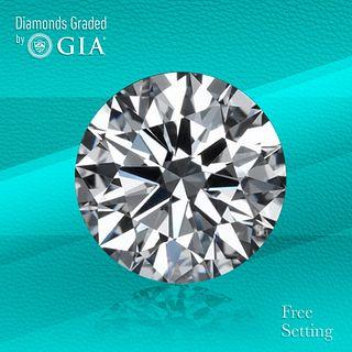 2.01 ct, I/VS1, Round cut Diamond. Unmounted. Appraised Value: $39,700