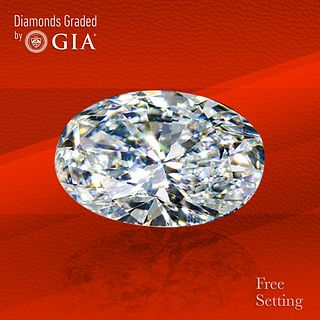 2.02 ct, E/IF, Oval cut Diamond. Unmounted. Appraised Value: $68,900