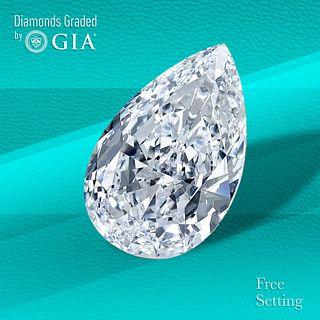 2.21 ct, D/VVS1, Pear cut Diamond. Unmounted. Appraised Value: $79,200