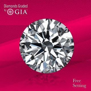 2.22 ct, E/VS1, Round cut Diamond. Unmounted. Appraised Value: $77,700