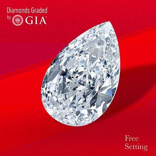 4.01 ct, D/VS1, Pear cut Diamond. Unmounted. Appraised Value: $296,700