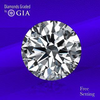 3.01 ct, F/VVS2, Round cut Diamond. Unmounted. Appraised Value: $195,600