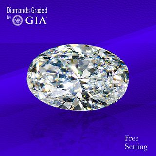 2.01 ct, D/VS1, Oval cut Diamond. Unmounted. Appraised Value: $58,000