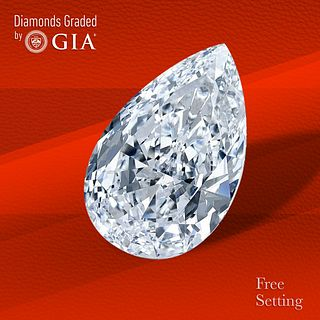 2.34 ct, E/IF, Pear cut Diamond. Unmounted. Appraised Value: $79,800