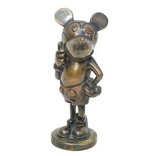Circa 1930s Mickey Mouse Car Mascot